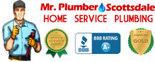 Mr. Plumber Scottsdale Home Service Plumbing Logo