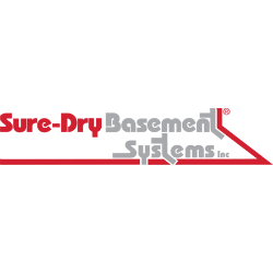 Sure-Dry Basement Systems Logo