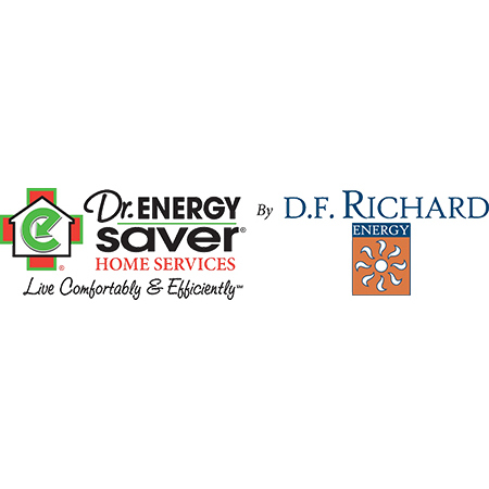 Dr. Energy Saver Seacoast by D.F. Richard Logo