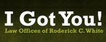 Law Offices of Roderick C. White Logo