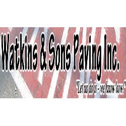 Watkins & Sons Paving Logo