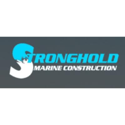 Stronghold Marine Construction Logo