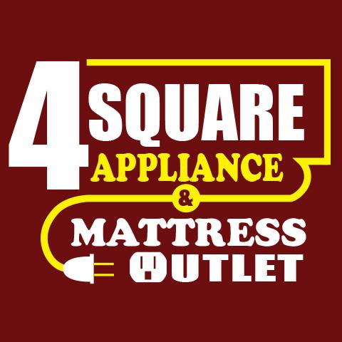 4 Square Appliance & Mattress Logo