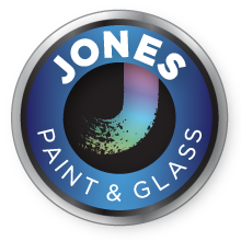 Jones Paint & Glass Roosevelt Logo