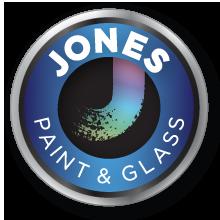 Jones Paint & Glass Provo Paint Division Logo