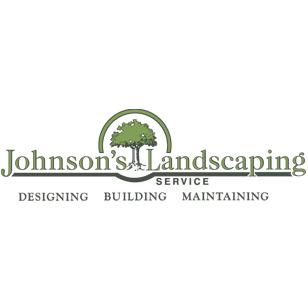 Johnson's Landscaping Service Logo