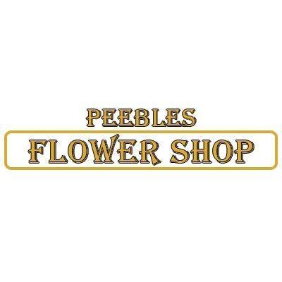 Peebles Flower Shop Logo