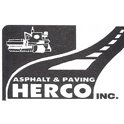 Herco Inc. Asphalt & Paving Logo