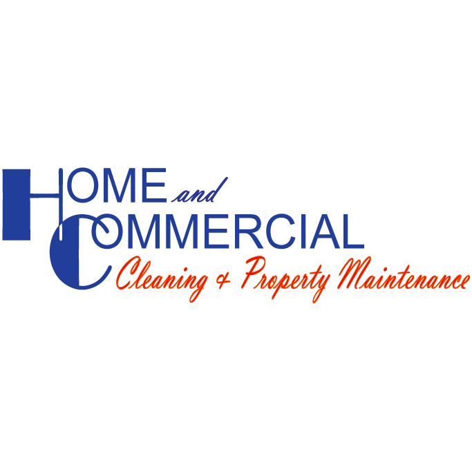 Home & Commercial Cleaning Service Logo