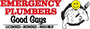 """Good Guys"" - Emergency Plumbers Logo"