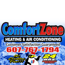 Comfort Zone Heating & Air Conditioning Logo