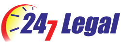 Call 24/7 Legal - Traffic Logo