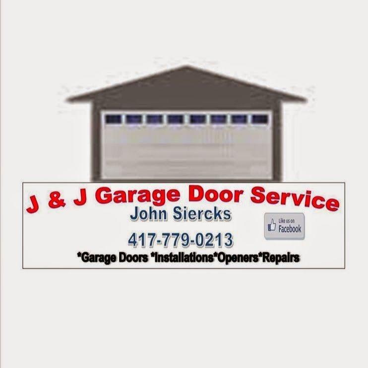 J & J Garage Door Service Logo