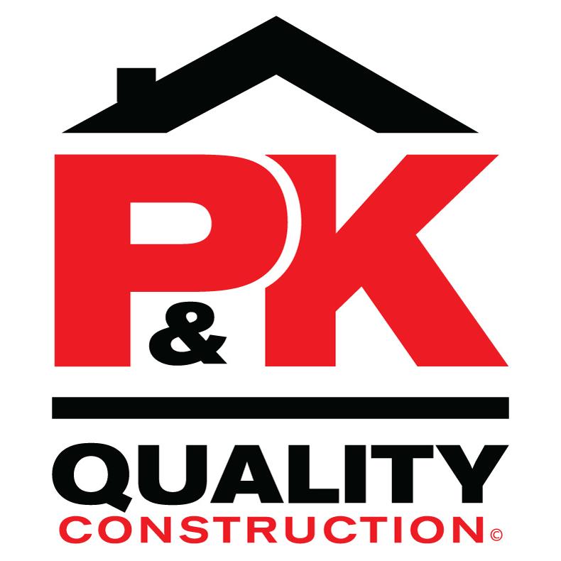 P&K Quality Construction Logo