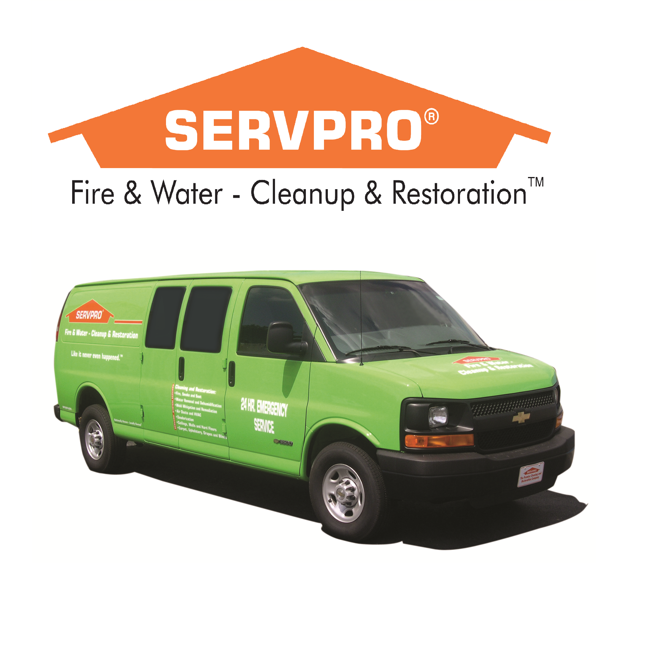 SERVPRO of South & West Spokane Logo