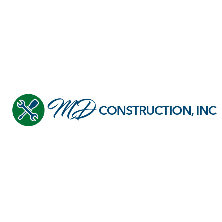 MD Construction, Inc. Logo