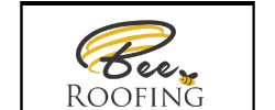 Bee Roofing Logo