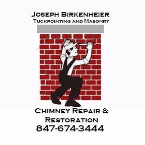 Joseph Birkenheier Tuckpointing and Masonry Logo