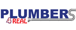 Plumbers 4 Real LLC Logo