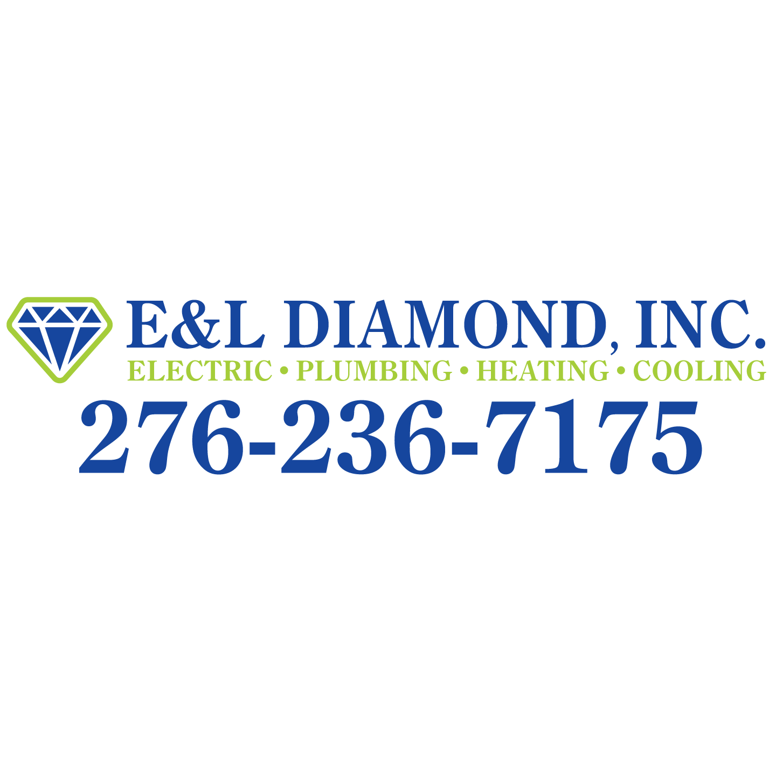 E & L Diamond Electric Cooling & Heating Co Logo