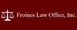 Froines Law Office, Inc. Logo