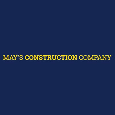 May's Construction Logo