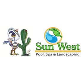 Sunwest Pool, Spa & Landscaping Logo