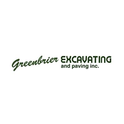Greenbrier Excavating & Paving Logo