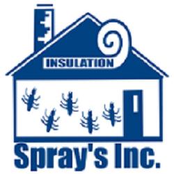 Spray's Termite, Pest Control, & Insulation Logo