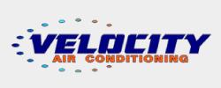 Velocity Air Conditioning Logo