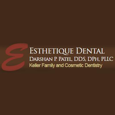 Darshan P. Patel, DDS, DPh, PLLC Esthetique Dental Logo