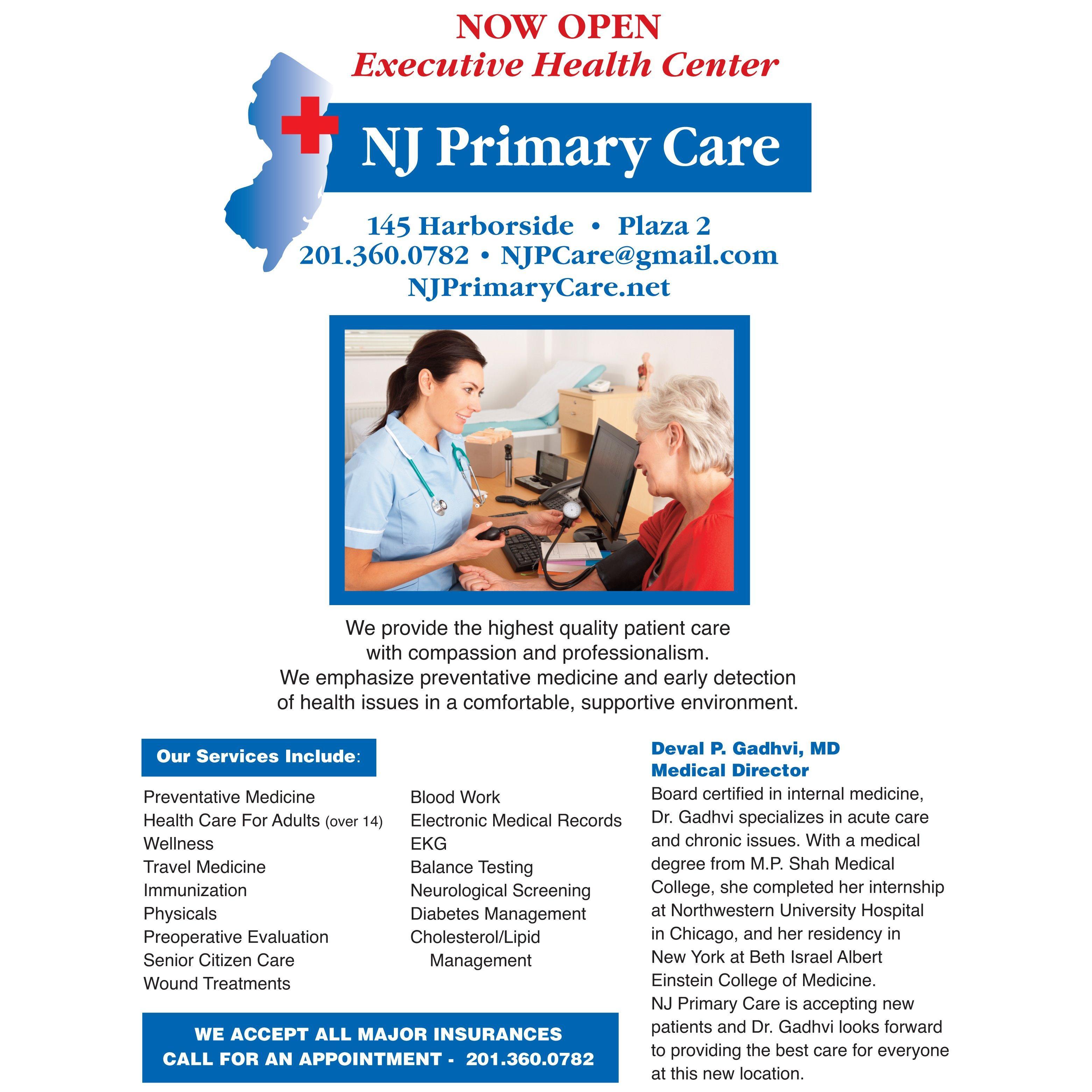 NJ Primary Care Logo