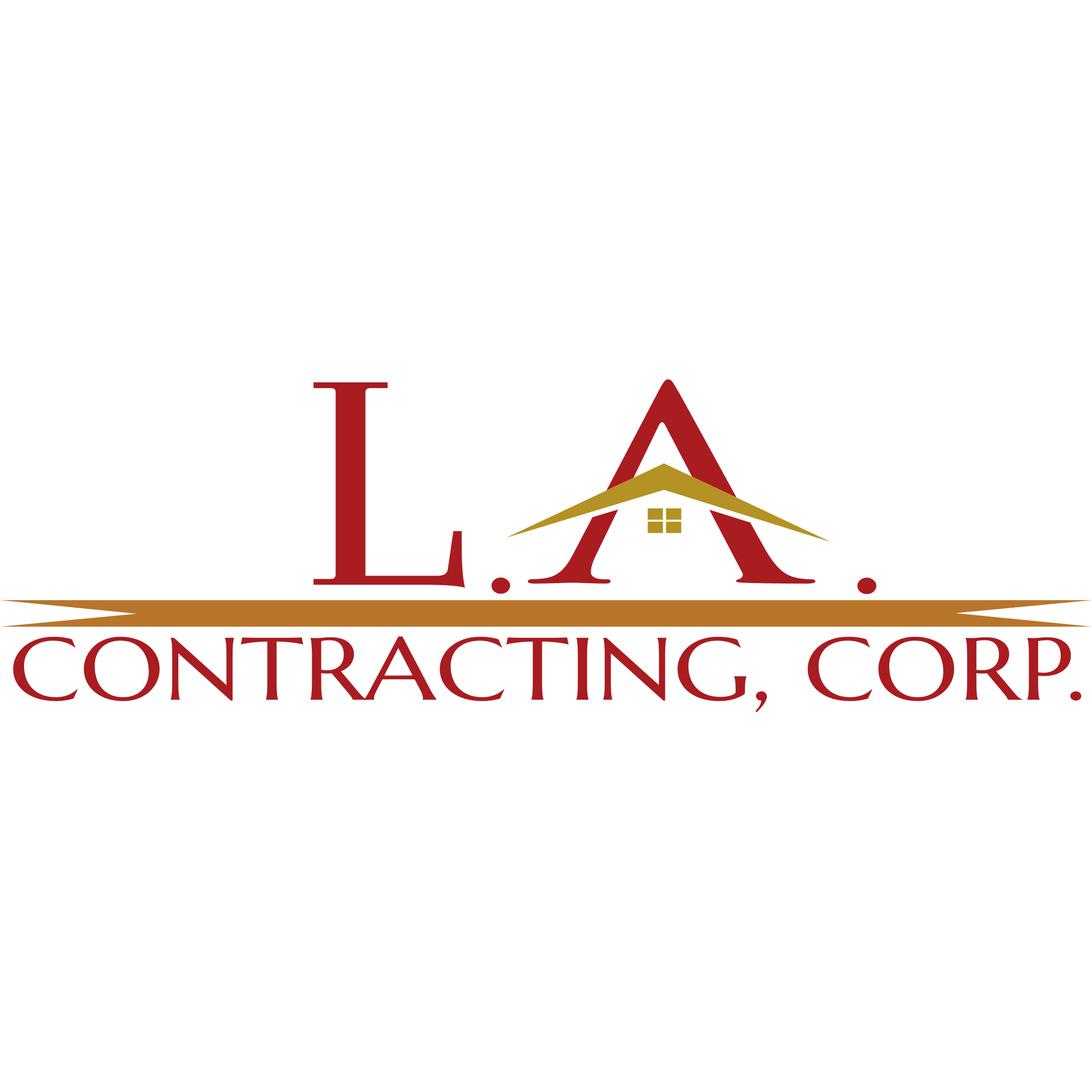 L.A. CONTRACTING, CORP. Logo