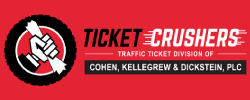 Ticket crushers a law corporation logo
