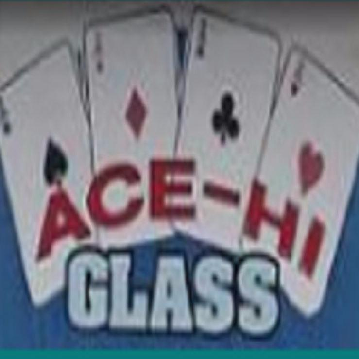 Ace-Hi Glass Logo