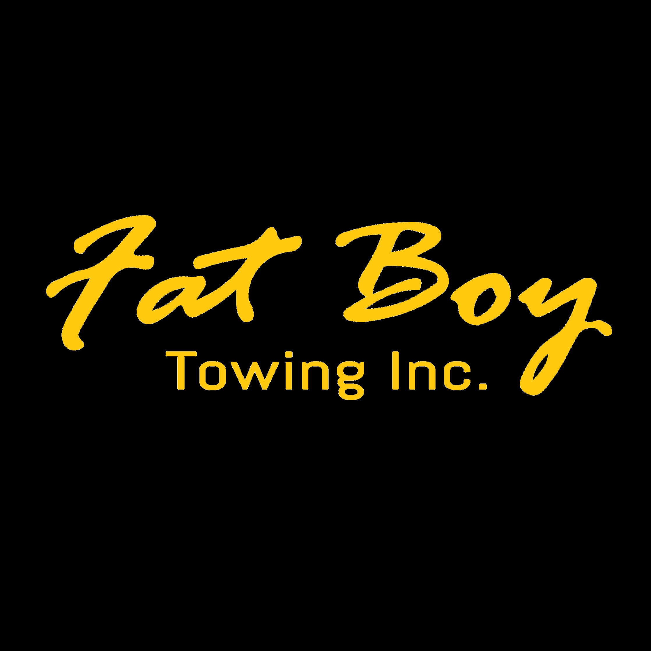 Fat Boy Towing and Transport, Inc. Logo