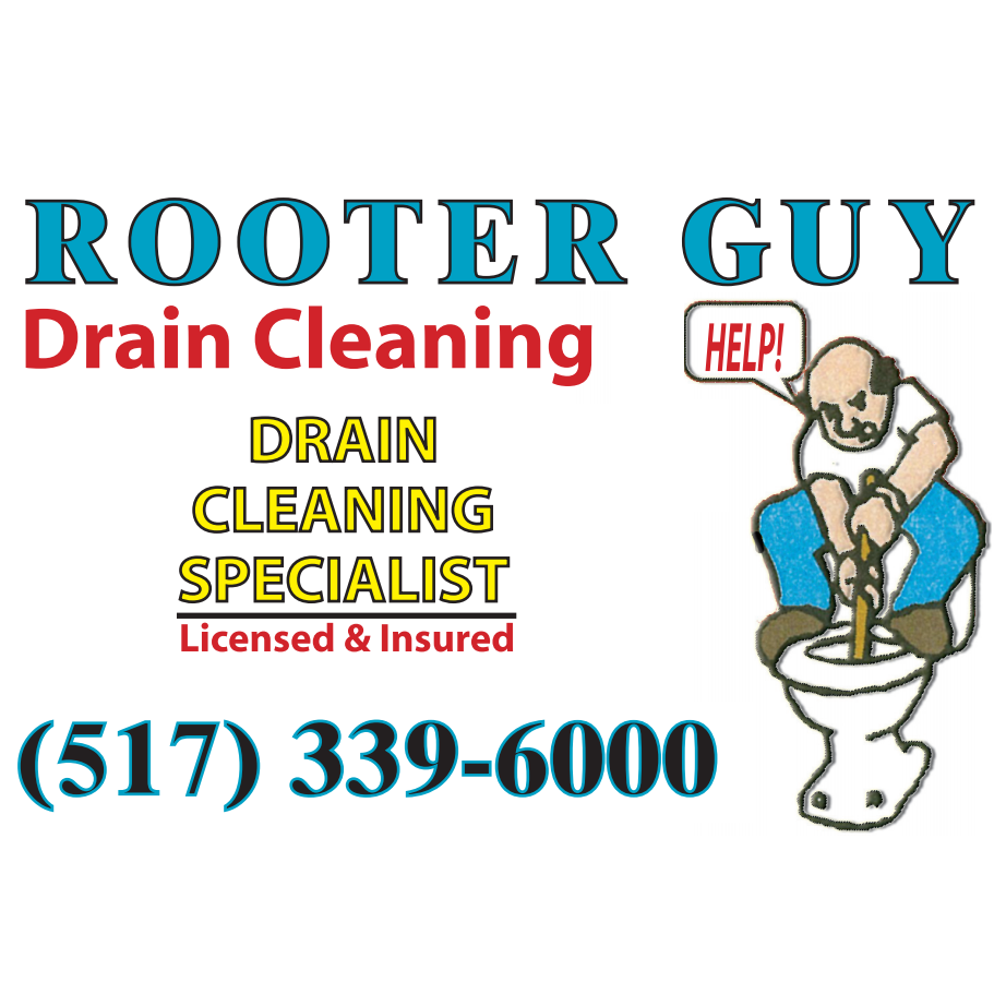 Rooter Guy Drain Cleaning Logo