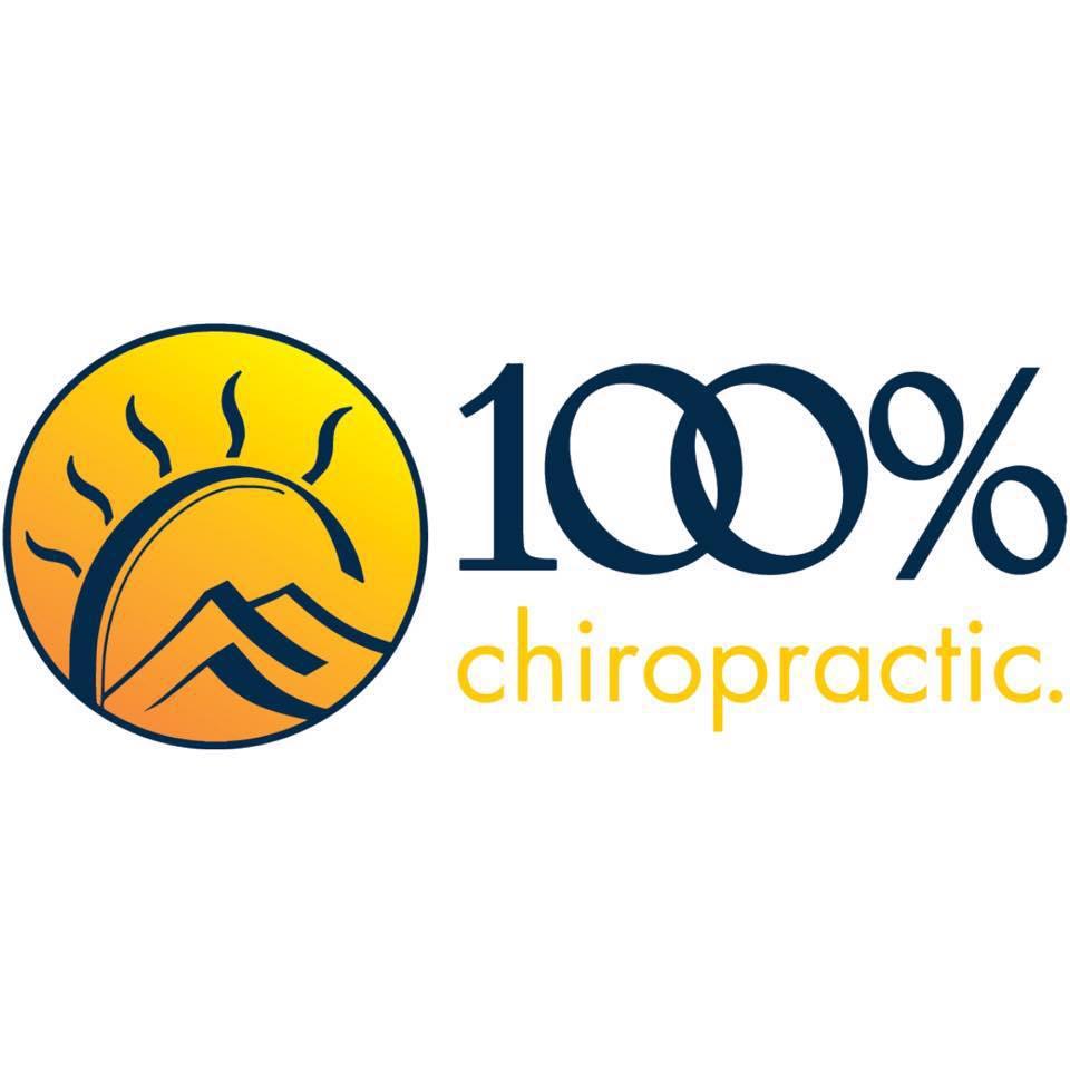 100% Chiropractic - Aurora Logo