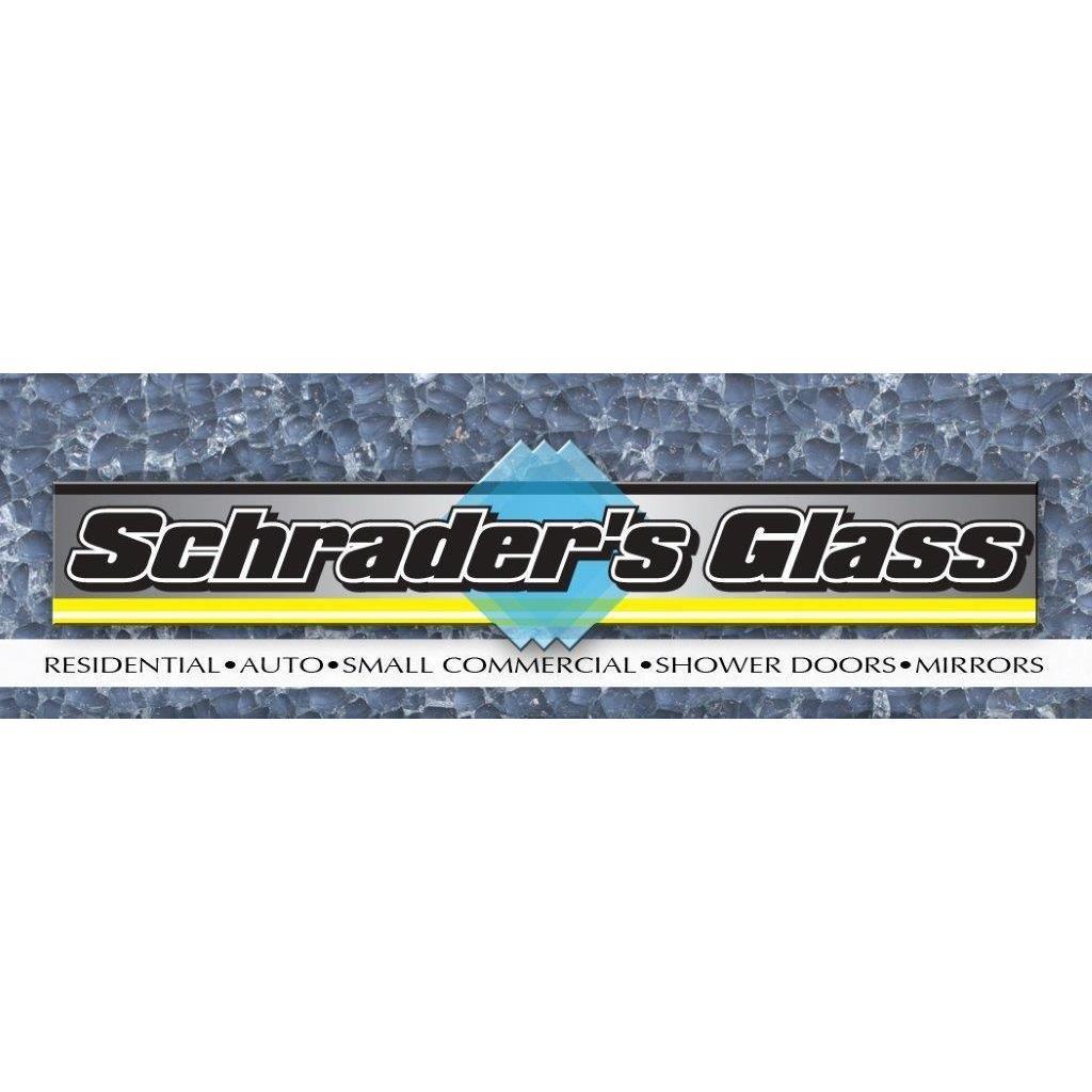 Schrader's Glass Logo
