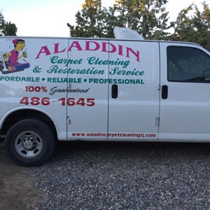 Aladdin Carpet Cleaning and Restoration Logo