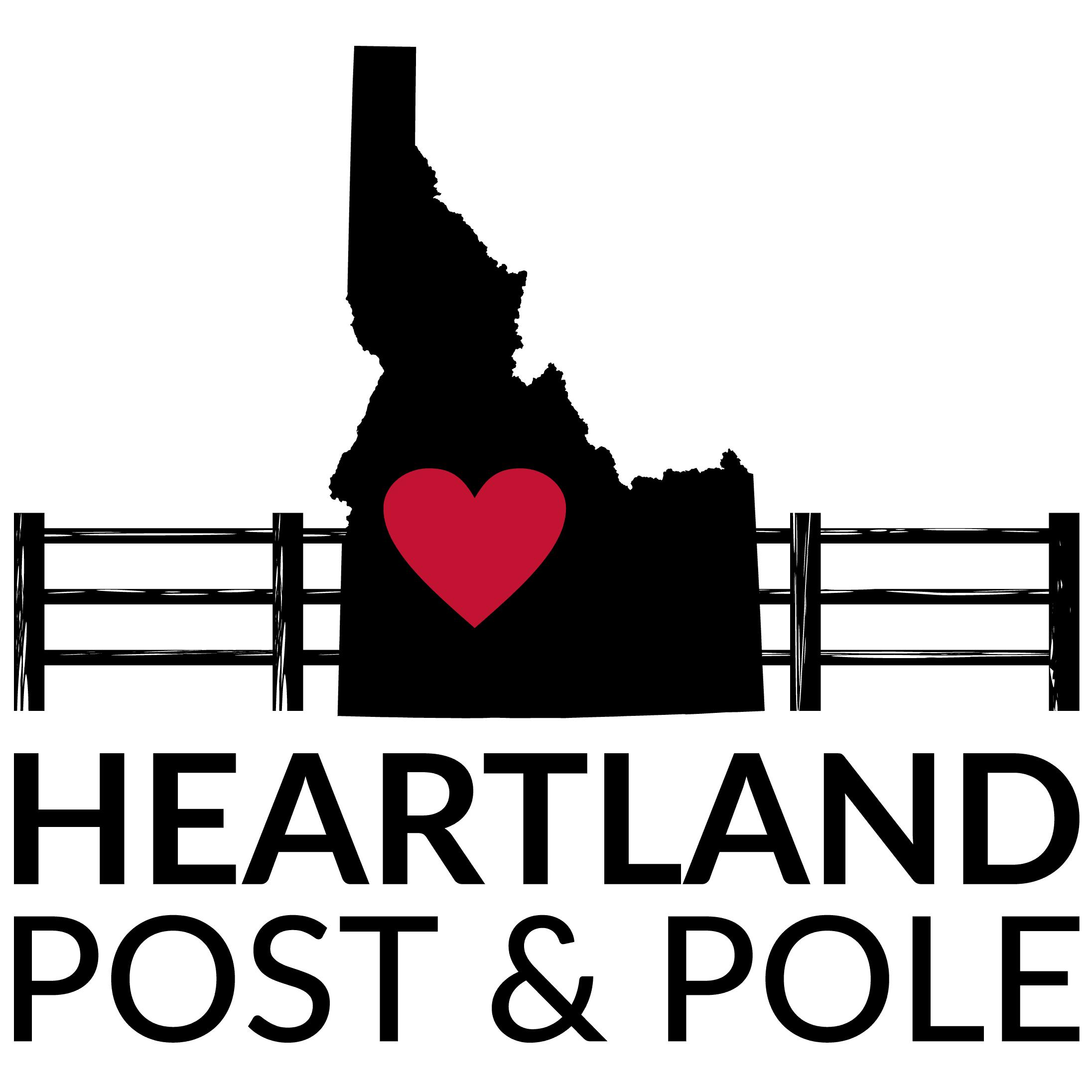 Heartland Post & Pole Logo