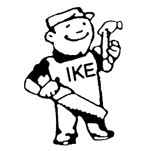 Big Ikes Roofing Logo