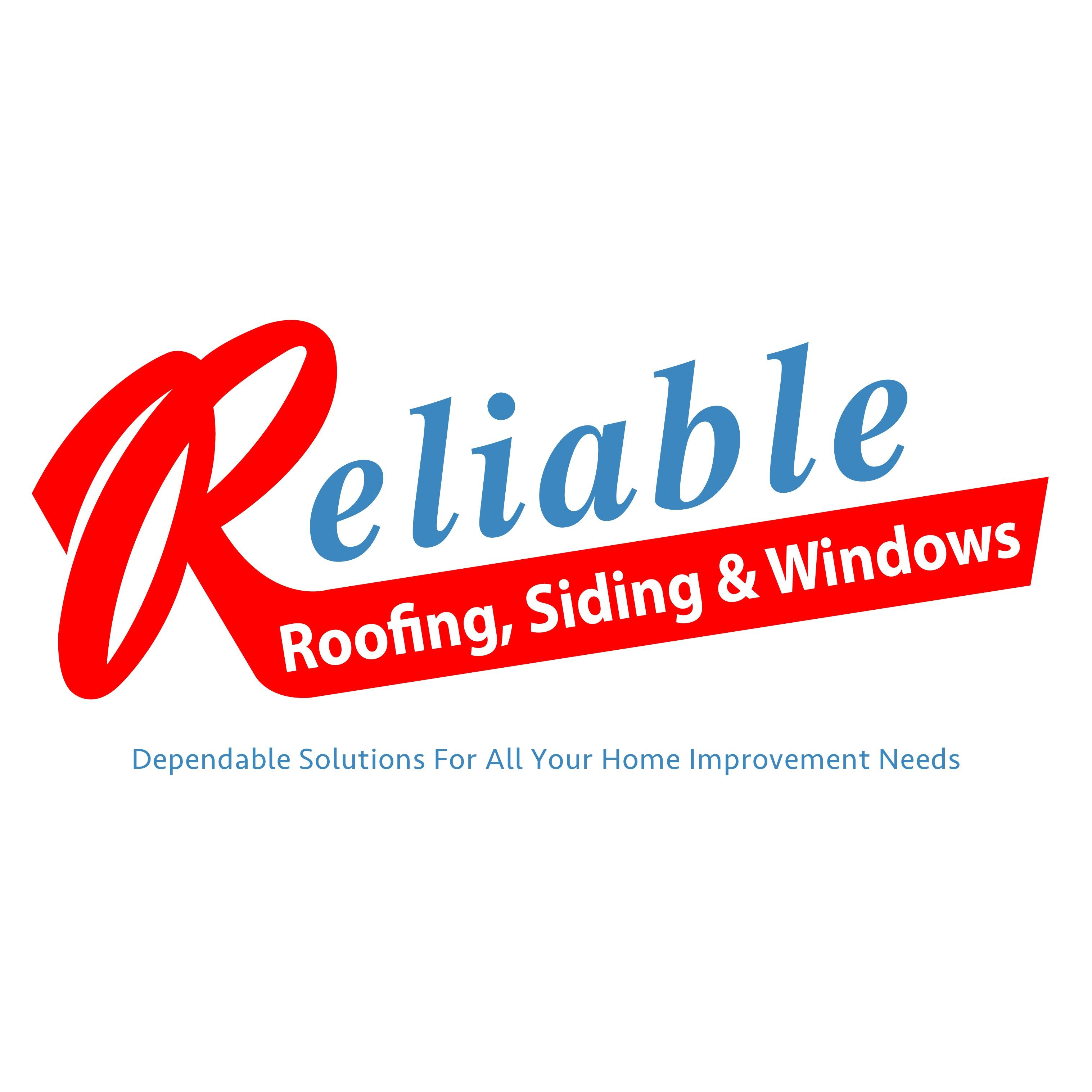 Reliable Roofing, Siding & Windows Logo