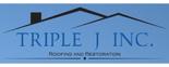 Triple J Inc. Roofing and Restoration Logo