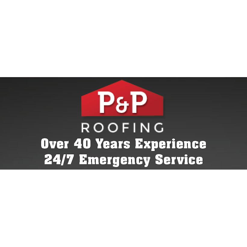 P & P Roofing Logo