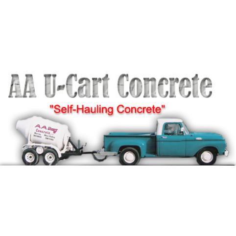 A A U-Cart Concrete Logo