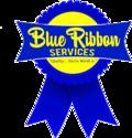 Blue Ribbon Services (Electric) Logo