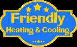 Friendly Heating, Cooling & Plumbing (Plumbing) Logo