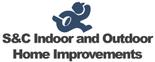S&C Indoor and Outdoor Home Improvements Logo