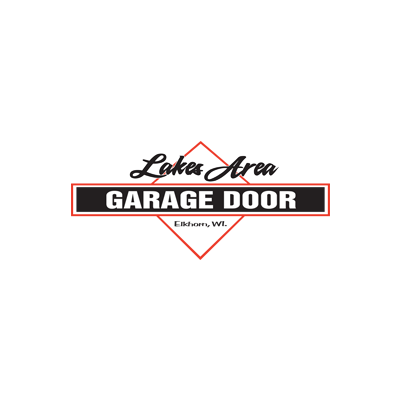 Lakes Area Garage Door Logo